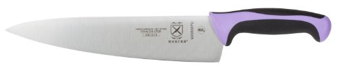 Mercer Culinary Millennia Chef'S Knife, 10-Inch, Purple