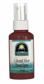 Longevity Wellness Colloidal Silver Throat Spray 1+1Fl oz 2 oz