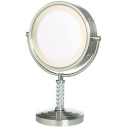 Eclipse Halo Lighted 6X Vanity Mirror - Buy Eclipse Halo Lighted 6X Vanity Mirror - Purchase Eclipse Halo Lighted 6X Vanity Mirror (Health & Personal Care, Products, Personal Care, Tools & Accessories, Mirrors, Makeup Mirrors)