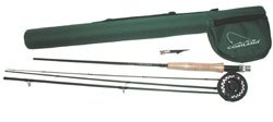 Cortland Travel Fly Fishing Outfit Combo 9'0