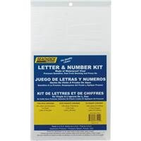 Seachoice Prod: 148Pc White Number Kit, 77121 2PK