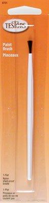 Flat Nylon Shed Proof Brush Testors