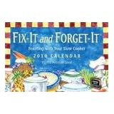 Fix-It and Forget-It Slow Cooker 2010 Calendar