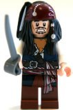 Jack Sparrow Lego Pirates of the Caribbean Minifigure - 1