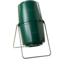 Tumbleweed 200003 58-Gallon Rotating Compost Bin, Green