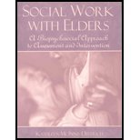 img - for Social Work with Elders: A Biopsychosocial Approach to Assessment and Intervention by Kathleen McInnis-Dittrich (2001-06-01) book / textbook / text book