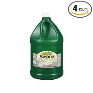 Amazon.com : Vinegar Regina White Wine Champagne Stock, 1 Gallon -- 4
