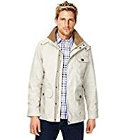 Blue Harbour Pure Cotton Funnel Neck Parka