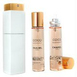 Chanel Coco Mademoiselle Twist & Spray Eau De Toilette - 3x20ml/0.7oz