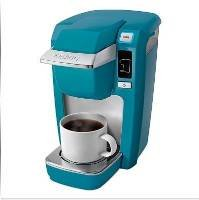 Keurig® Mini Plus Personal Coffee Brewer -Turquoise Aqua Best Coffee Makers