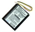 Battery for TomTom 4K00.100, 4N00.004, 4N00.004.2, 4N00.005, 4N00.006, 4N00.012, 4N01.000, 4N01.001, 4N01.002, N14644, NVT2B225, One, One 3rd Edition Dach, One Europe, One IQ, One IQ Routes, One Regional, One V2, One V3, One V5, One Version 3, One XL Dac