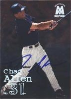 Chad Allen Minnesota Twins 1999 Skybox Heavy Metal Autographed Hand Signed Trading... by Hall+of+Fame+Memorabilia