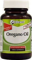 Vitacost Oregano Oil - Standardized Extract -- 510 mg - 60 Vegetarian Capsules (Oregano Oil Extract Capsules compare prices)