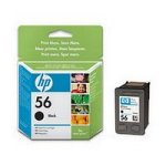 HP No.56 Ink Cartridge Black InkJet Print Cartridge (C6656A) [Office Product]