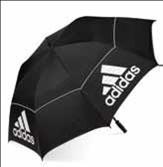 Adidas Auto Open Double Canopy Umbrella, 64-Inch,