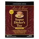 Laci Le Beau Super Dieter's Tea, Cinnamon Spice, 60 bags, 5.26 oz (Tamaño: 60 Tea Bags)