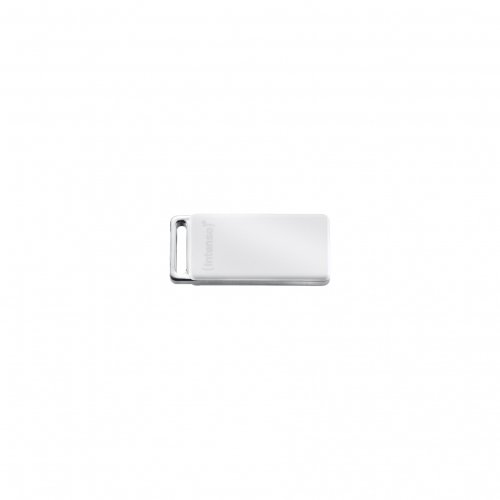 Intenso 8GB Slim - Memoria USB (8 GB, USB 2.0, 28 MB/s, Color blanco, 1,5 cm, 5 mm)