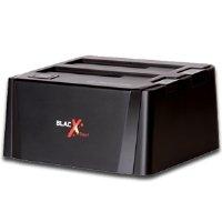 正品Tt曜越BlacX外置3.5/2.5英寸双盘位硬盘底座ST0014U,60元