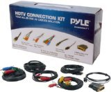 Pyle-Home PHDMIKT1 HDTV Audio/Video Cable Connection Kit Compatible with Plasma, LCD/LED/DLP/DVD and  Audio Players
