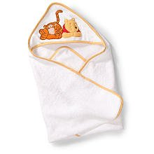 Summer Infant Baby Infant Winnie the Pooh Tigger Hooded Towel