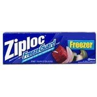 12/Pack Ziploc Ns Frzr Bag Qt Bonus Ct (Ct Loc compare prices)