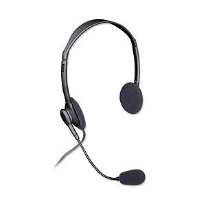 Ziotek Headphones With Mic And Volume Control