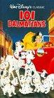 101 Dalmatians Vhs by Walt Disney Home Video