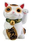 Maneki Neko Money Lucky Cat Chinese Japanese Statue