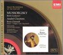 echange, troc Mussorgsky, Christoff, Cluytens - Boris Godunov
