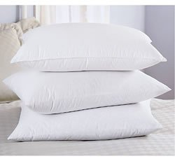 Ultraflow Optiform Polyester Standard Pillow Set - Featured in Many Marriott ® Hotels (2 Standard Pillows)