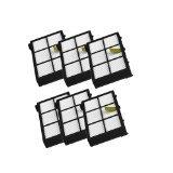 cimc llc hepa filter replacement for irobot roomba 800 series 870 880 6 pack