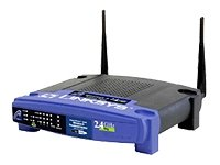 Linksys WRT54G 54Mbps 802.11g Wireless LAN Access Point & 4-Port Router