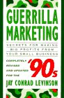 Guerrilla Marketing for the Nineties, Revised Edition (0395644968) by Levinson, Jay Conrad