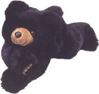 Large Teddy Bear - Browser Black Teddy Bear -