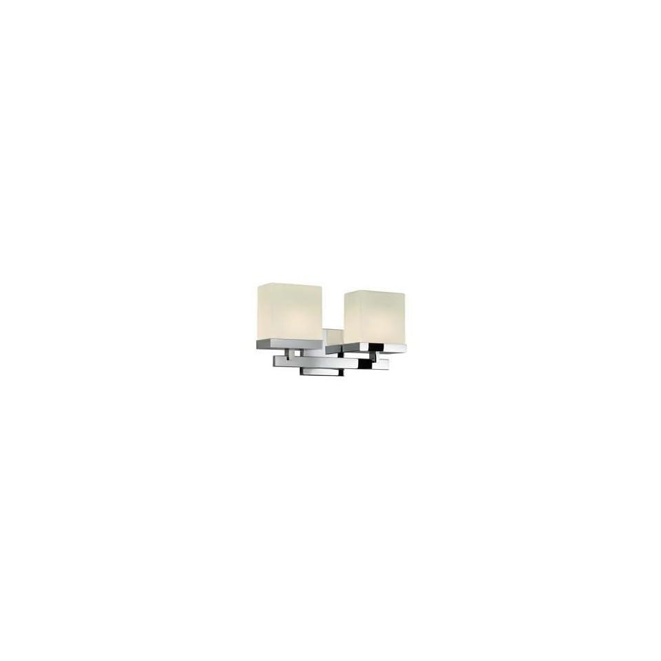 Sonneman 3232.01 Cubist Polished Chrome Wall Sconce