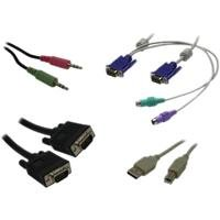 9FT PS2 USB Audio KVM Cable Kit for Switchview MM1 Or MM2