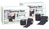 Mueller Spatting Tape 3Ó Black - 16 - 7.5 Yd. Rolls, Stretched - Lightweight Elastic Adhesive Tape