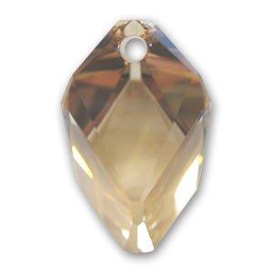 Pendente Cubist Swarovski 6650 mm. 22 Crystal Golden Shadow x1