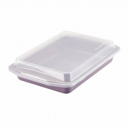 Paula Deen 46265 Speckle Nonstick Bakeware Covered Rectangle Cake Pan, 9