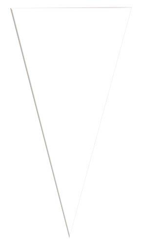 Verbetena - Bolsa cono transparente, 20x40 cm, pack 100 unidades (011500015)