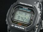 Mens Casio DW5600E-1VMns G-Shock Watch Blk Resin Band 200M WR