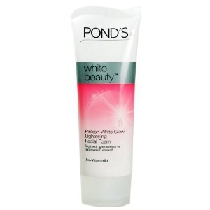 Pond's White Beauty Pinkish-white Glow Lightening Radiant Facial Foam 100 G. white