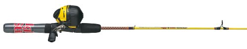 Shakespeare  Ugly Stik Junior Spincast Combo, Yellow/Red