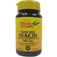 Niacin Flsh Fr Cp 500Mg Nat/Wl Size: 50