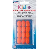 Ear Plugs / EarPlugs Kids Soft Silicone - 6 pairs