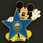 Disney's 100 Years of Dreams Pin #100 New Hampshire
