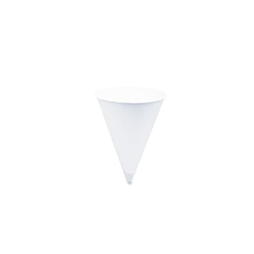 SOLO Cup Company Cone Water Cups, Cold, Paper, Four Ounces, White, 2000 per Pack (Water Cooler Cups 4 Oz compare prices)