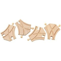 37222 Short Curved Switch Track L/R Bulk (12)