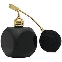 ブラック クリスタルアトマイザー フランス製 ブラッククリスタル香水瓶 861213