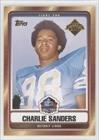 Charlie Sanders Detroit Lions (Football Card) 2007 Topps Hall of Fame #HOF-CS
